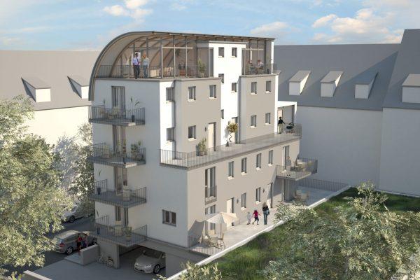 Guntramstraße Visualisierung