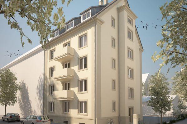 Scheffelstrasse 3D-Visualisierung