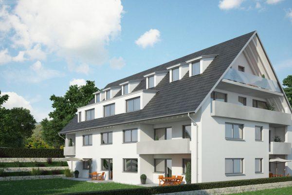 Adlerburg Mehrfamilienhaus Visualisierung